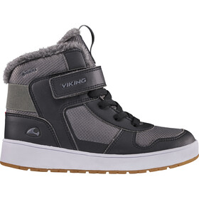 Viking Footwear Jack GTX Scarpe Bambino, nero/grigio
